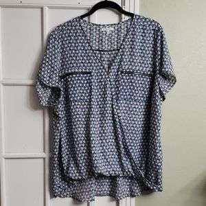 Short sleeve Maurice's blouse